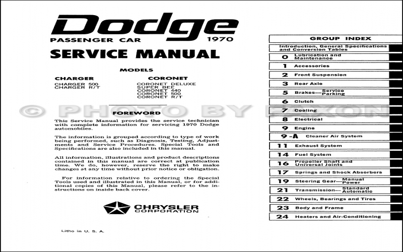2015 Dodge Charger Service Manual Pdf