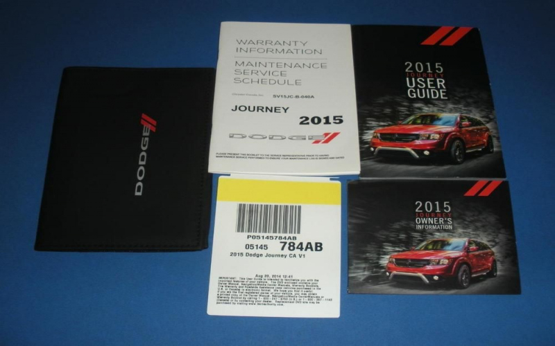 2015 Dodge Owners Manual