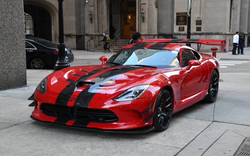 2017 Dodge Viper Acr Owners Manual