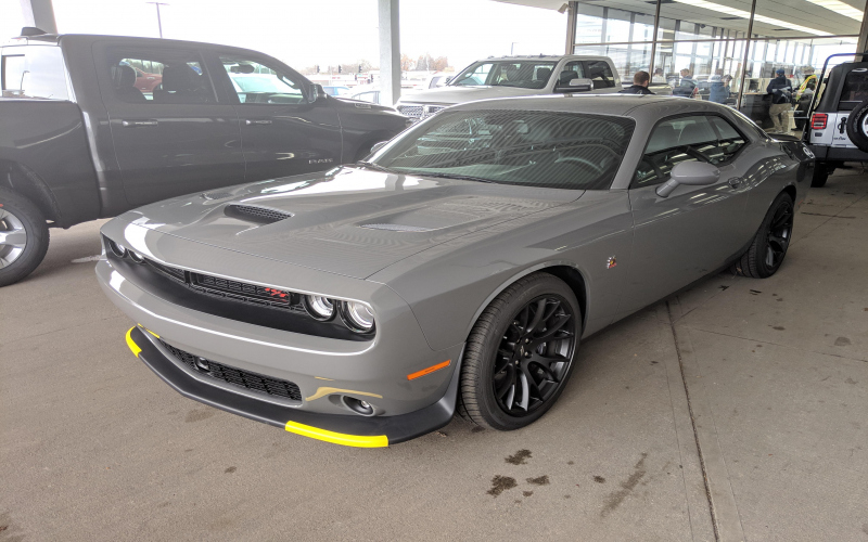 2019 Dodge Challenger Scat Pack Owners Manual