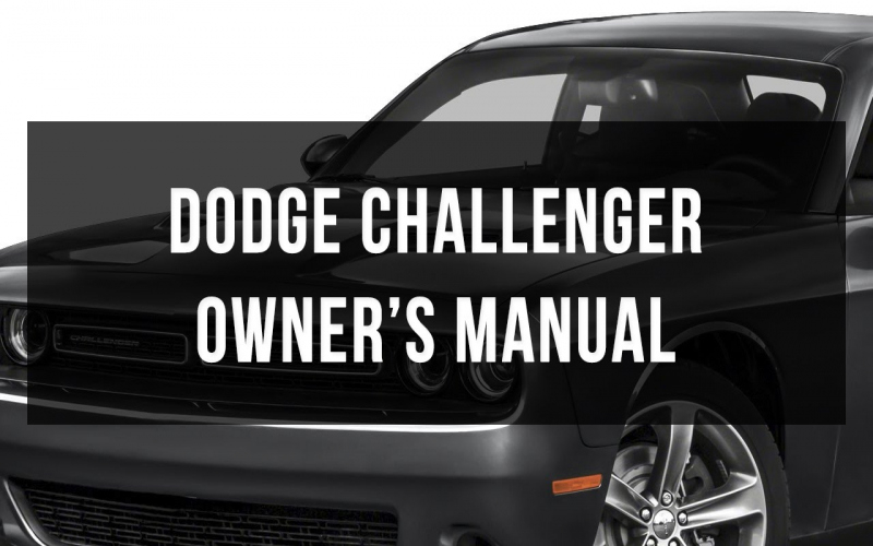Dodge Challenger Owners Manual