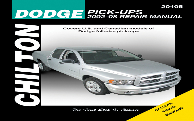 Owners Manual For 2003 Dodge Ram 1500