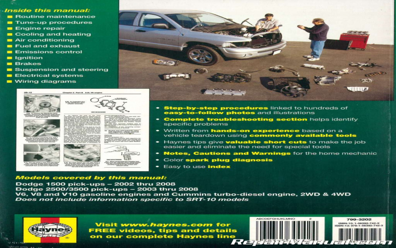 Owners Manual For 2008 Dodge Ram 3500
