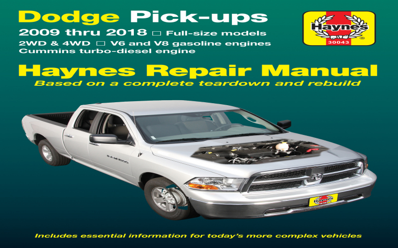 Owners Manual For 2015 Dodge Ram 1500
