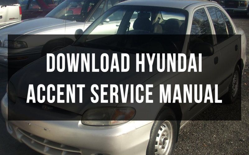 1998 Hyundai Accent Owners Manual