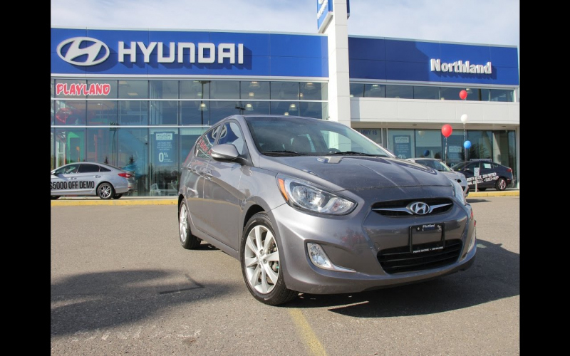 2013 Hyundai Accent Hatchback Owners Manual