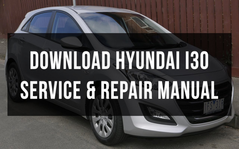 2013 Hyundai I30 Owners Manual Pdf