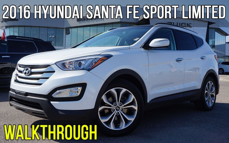 2016 Hyundai Santa Fe Limited Owners Manual