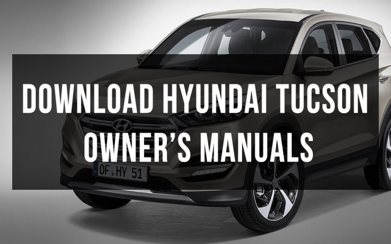 2017 Hyundai Tucson Limited Owners Manual