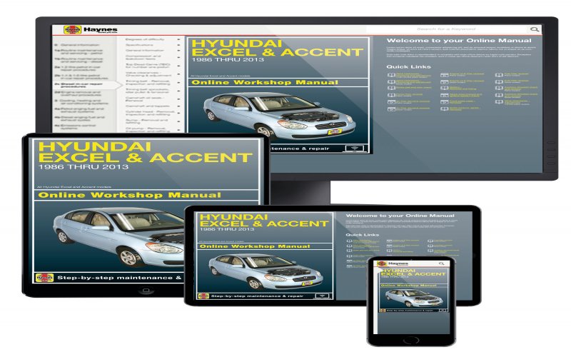 Owners Manual For 2013 Hyundai Accent