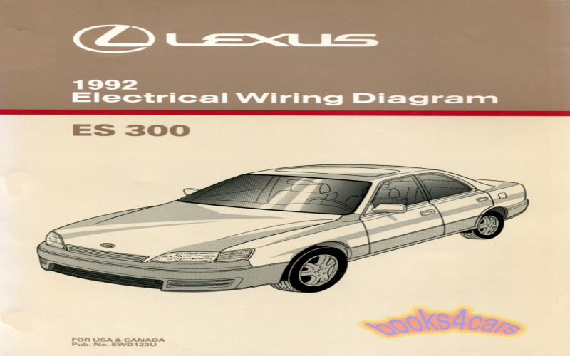2003 Lexus Es300 User Manual