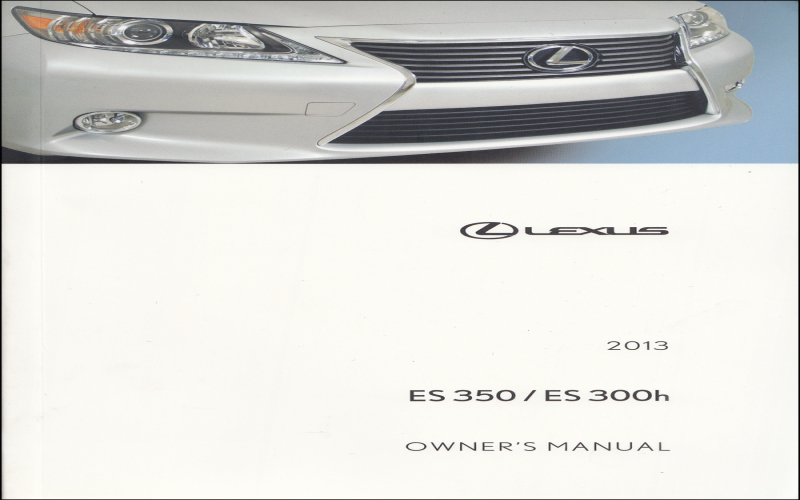 2006 Lexus Es330 Owners Manual