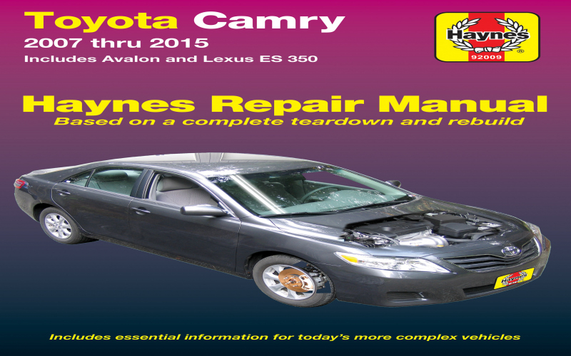 2008 Lexus Es 350 Owners Manual Pdf
