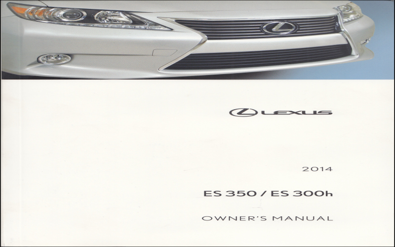 2015 Lexus Es300h Owners Manual