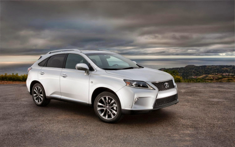 Lexus Rx 350 Owners Manual 2014