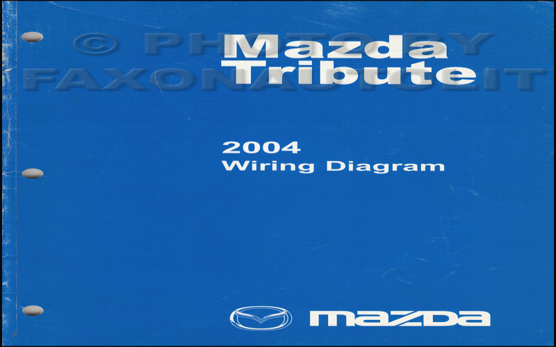 2003 Mazda Tribute Owners Manual