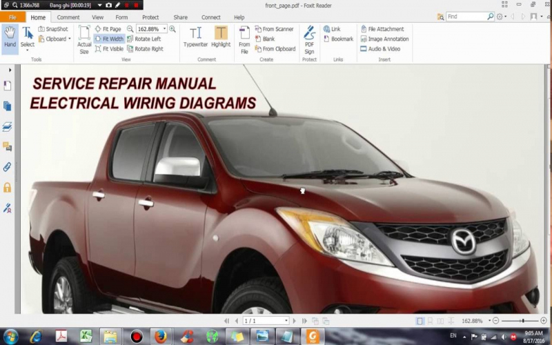 2014 Mazda Bt 50 Owners Manual