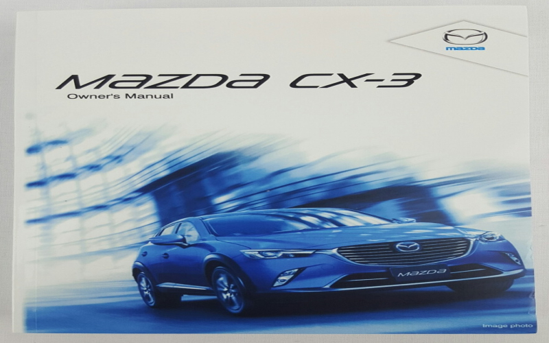 2015 Mazda Cx 3 Owners Manual