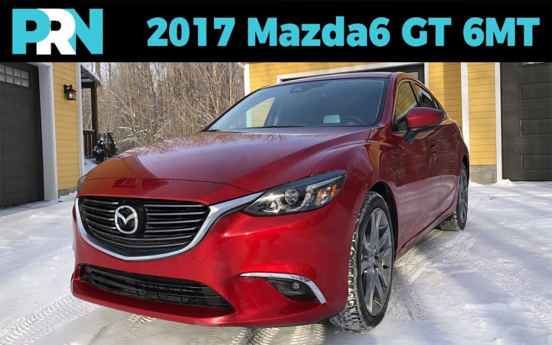 2017 Mazda 6 Gt Owners Manual