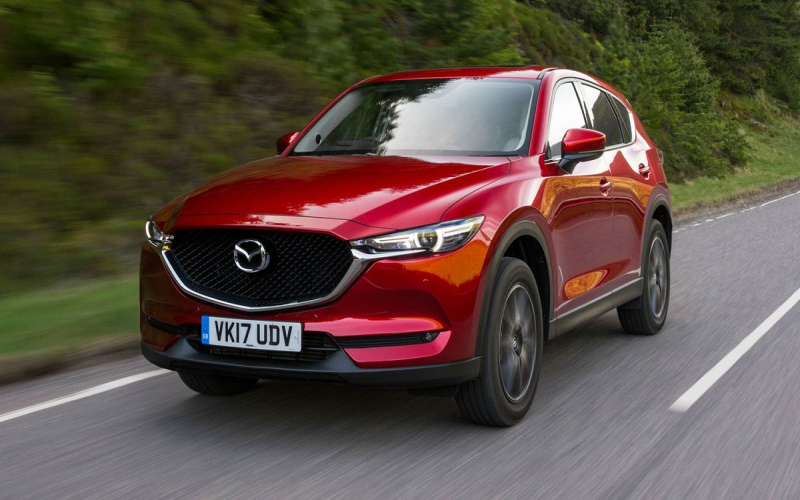 Mazda Cx 5 Owners Manual 2017 Uk