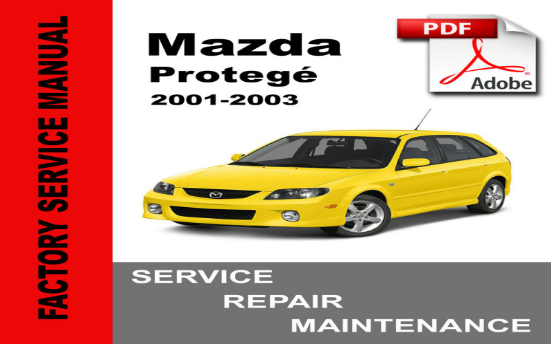 Mazda Protege 2003 Owners Manual